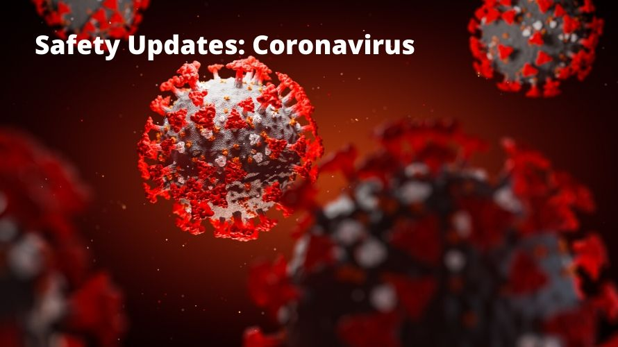 Safety updates: coronavirus