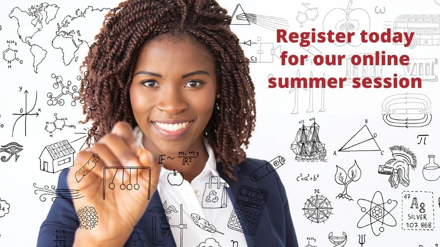 Register for our online summer session