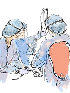 Sketches from the ICU by Oh Young-Jun