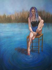 Turbulence, Watercolor 28x20in_Kaleeka Quaye