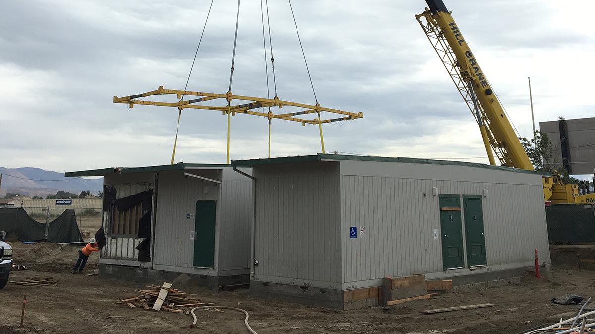 toilet building modulars