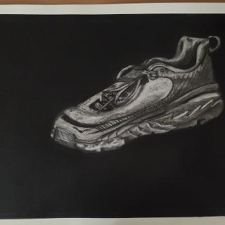 A Runners Shoe