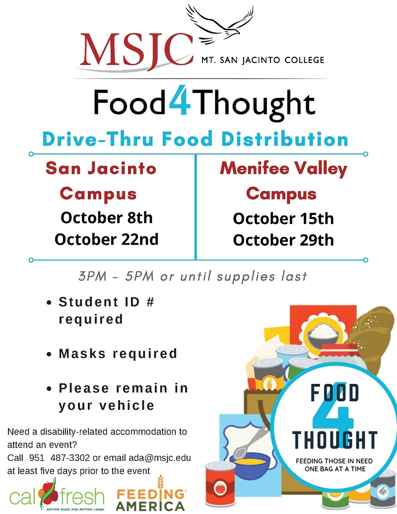 Food 4 thought drive through distribution