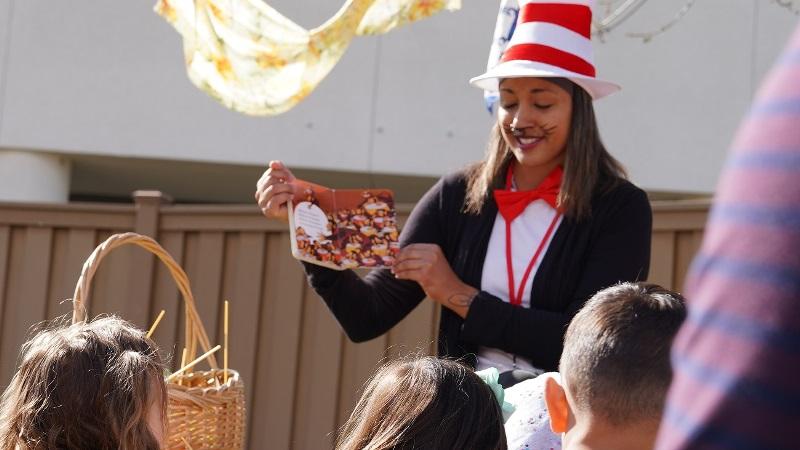 MSJC Celebrates Dr. Seuss Day