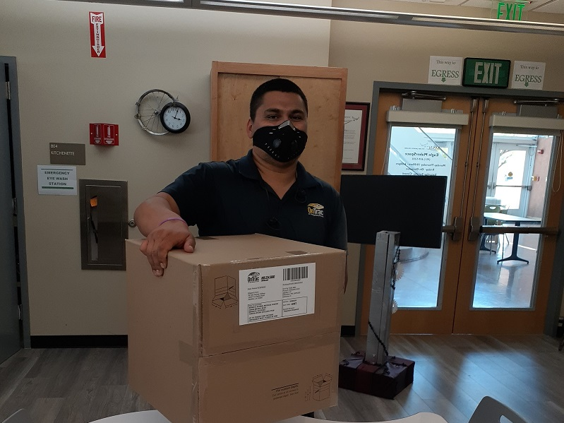 MSJC Partners With OnTrac to Ship  Face Shields to Regional Hospitals