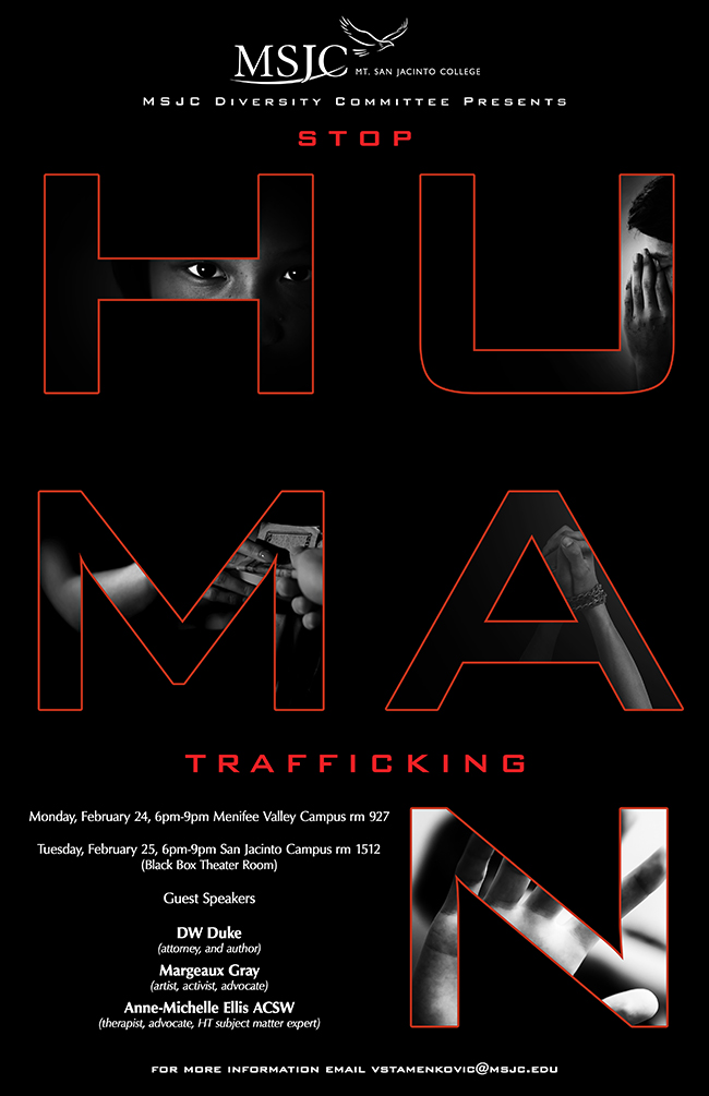 MSJC Hosts Panel to Discuss Human Trafficking
