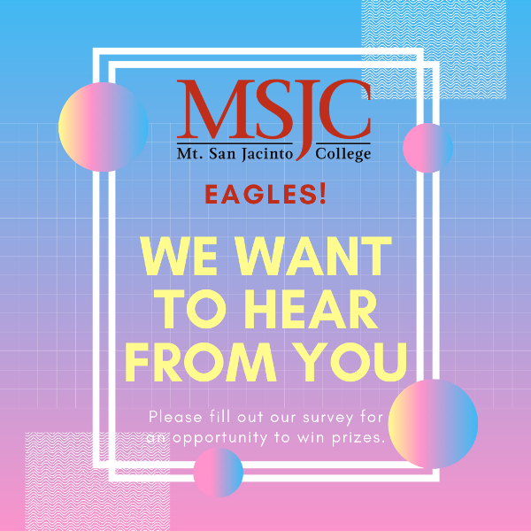 Students: We want to hear from you