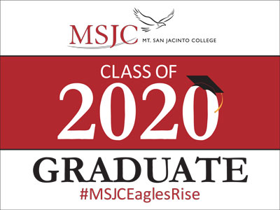 Celebrate your graduate with a 2020 grad sign